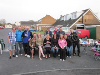 The Group Wedding Street Party Apr 2011