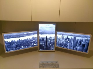 Triple Screens New York Desktop