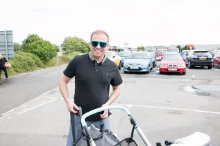 Weymoth Dorset Holiday June 2016 Flat Tyre Pushchair Me