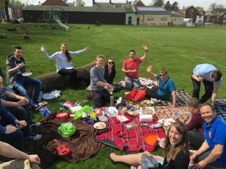 Work Picnic May 2016 The Group