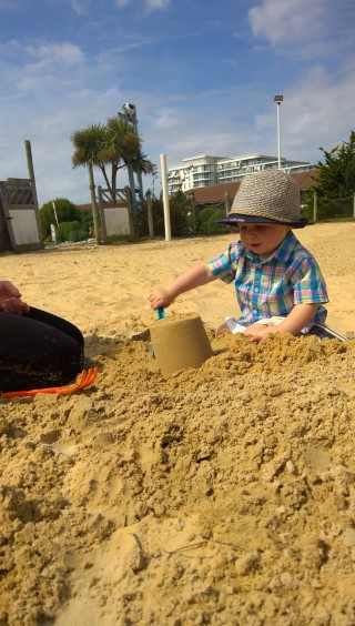 ethan in the sand butlins 2017
