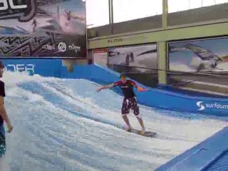 flowriding on a rope at flow