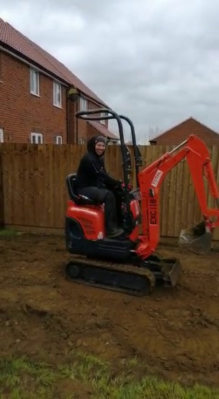 me 360 on the digger april 2019