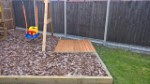 Cover Down Garden Sand Pit April 2017