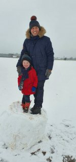 Ethan And I Full Snow Day Jan 2021