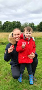 Ethan And I Skittles Burbage Common Walk Aug 2020