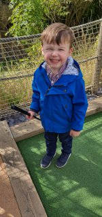 Ethan Crazy Golf Blaby Aug 2020