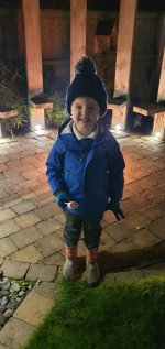Ethan Marshmallows Bonfire Night Nov 2020