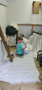 Ethan Painting Mounts Office Studio Lights June 2020