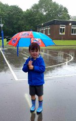 Ethan Umbrella Ethans Stay And Play At School Aug 2020