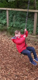 Ethan Zipline Ryton Pools Country Park Oct 2020