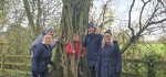 Group Burbage Woods Warner Family Walk Nov 2020