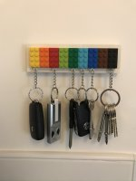 Lego Accessories Oct 2019 Key Holder Filled
