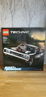 Lego Technic Charger 10 Years Since 1st Date Aug 2020