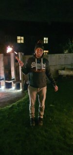 Me Sparkler Bonfire Night Nov 2020