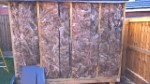 Swing Set And Shed Progress November 2016 Shed Insulation