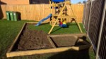 Swing Set Play Area Wood Nov 2016 Side