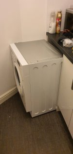 Tight Fit New Washing Machine Dec 2020